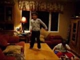 Adam Riverdancing On The Coffee Table, 6 Years Old