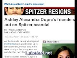 Ashley Alexandra Dupre - Her Friends Rally To Her Defense