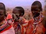 African , Kenya Women In Tribe In Native Dress Or Costume, Tribal