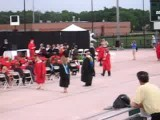 Backflip At Clear Brook High School&#39 S 2008 Graduation