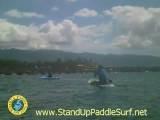 Buddy On A Surftech Blacktip