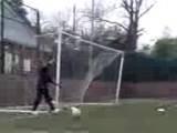Goalkeeper Michal Lorenz