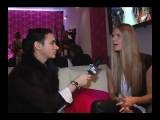 Julia Stegner Interview - Mercedes Benz Fashion Week NY 2009