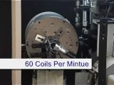 Mattress Machinery HX-70C Spring Coiler.wmv