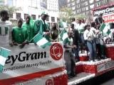 Naija Independence Day Parade NY - Money Gram Float
