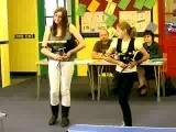 Northumbrian Small Pipes - Chloe Corrigan 11 And Jessica Lamb 13