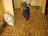 Toby Crazy Dancing