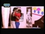 Sexy Telugu Red Dressed Girl Loving With Boy Friend