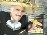 Vicente Fernandez - A Puros Besos Official Music Video