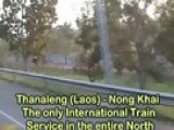 Travel The Thai Train Over The Mekong To Laos!