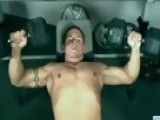 Pumping Some Iron On Webcam