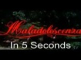 Maladolescenza In 5 Seconds