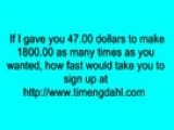 Make Thousands Of Dollars Online Today Scam