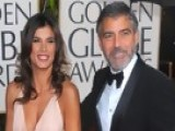 Access Hollywood - 2010 Golden Globes Red Carpet: George Clooney & Elisabetta Canalis - Best Dressed Couple!