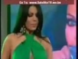 Lebanese Singer Model Haifa Wehbe Performing Live