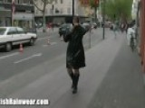 Rainwear Walk In Public
