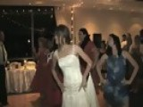 Bollywood Dance American Bride & Groom Dancing To Bollywood Tune