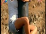 Survivor Merve - Mini Şort, Şahane Bacaklar, Mükemmel Downblouse