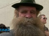 World Beard And Moustache Championship Parade In Anchorage, Alaska