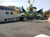 3d Animated Graffiti - Sketch 63 Brisbane