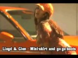 Lloyd & Glen - Mini-skirt And Go Go Boots