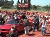 Adam Lambert Visits Mt Carmel High School