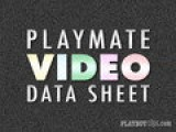 Sara Jean Underwood: Playboy Playmate Video Data Sheet