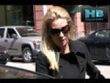 Nicolette Sheridan Visits Medical Office Visibly Sick