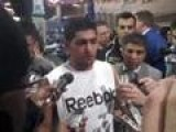 Amir Khan Post Fight Press Conference