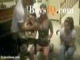 Funny Video-frog Thrown In Sexy Chicks Cleavage Boysiq Com Funny Prank Teen Movie