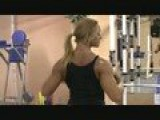 FIGURE MODEL Katka Kyptova DIYMUSCLE Female Bodybuilder Routine