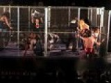 Steel Cage Wrestling Match! Crazzzzyyy Stuff!!