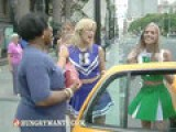 Undercover Cheerleaders - The Danny Glover Cab Test